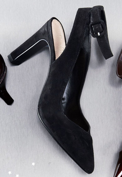 NEXT Pantofi cu bareta la gleza si varf ascutit Femei