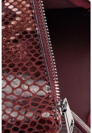 NEXT Geanta plic de piele ecologica cu aspect reptila Femei