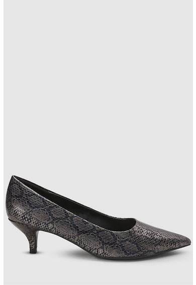 NEXT Pantofi de piele ecologica cu model reptila Femei