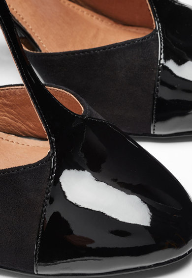 NEXT Pantofi cu toc masiv si bareta in forma de T Femei