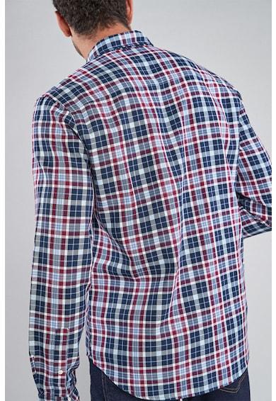 NEXT Карирана риза с яка с копчета Мъже