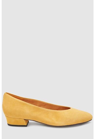 NEXT Pantofi de piele intoarsa cu varf migdalat Femei