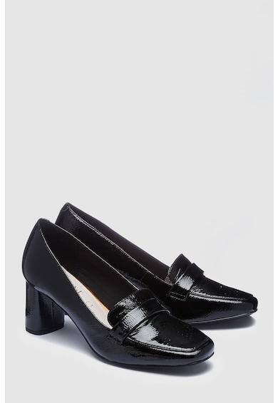 NEXT Pantofi loafer de piele cu toc inalt Femei