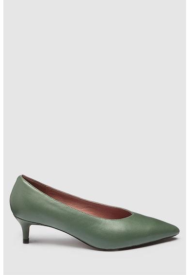 NEXT Pantofi de piele cu toc kitten Femei