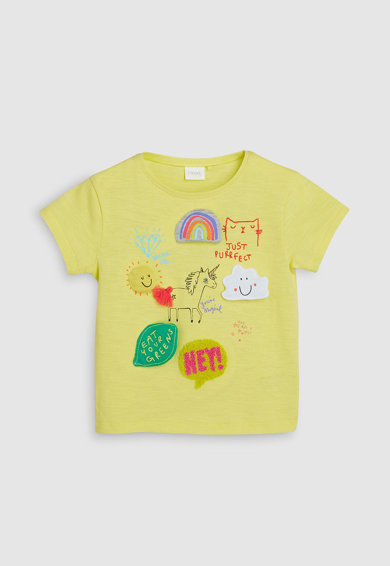 NEXT Тениска с шарка Момичета
