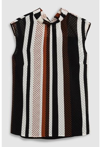 NEXT Bluza cu guler inalt si aspect texturat Femei