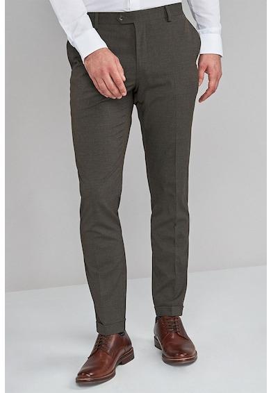 NEXT Прилепнал официален панталон с ръб Мъже
