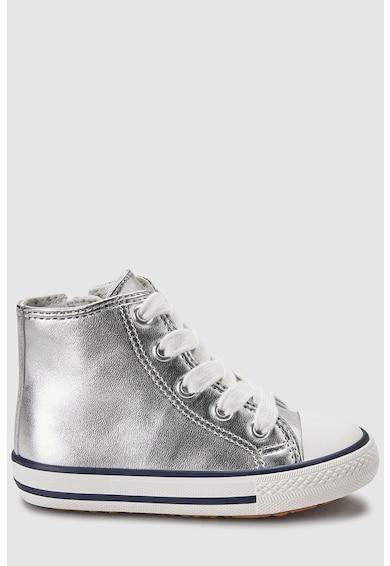 NEXT Magas szárú cipő fémes hatással Lány