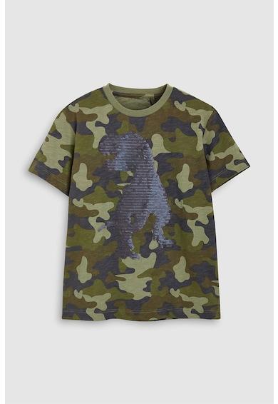 NEXT Тениска с камуфлажен десен и пайети Момчета