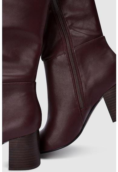 NEXT Cizme lungi pana la genunchi, de piele ecologica Femei