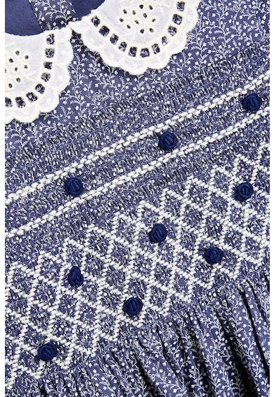 NEXT Bővülő ruha hímzett bubi gallérral Lány