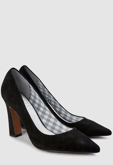 NEXT Pantofi de piele intoarsa cu varf ascutit Femei
