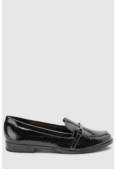 NEXT Bebújós cipő lakkozott hatással női