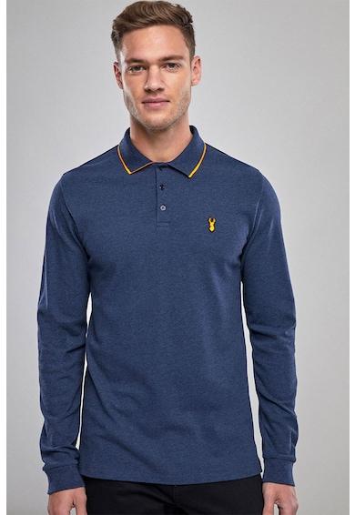 NEXT Вталена блуза с яка и бродерия Мъже