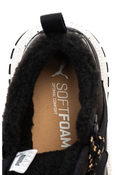 Puma Pantofi sport unisex cu captuseala din material teddy Next SB Femei