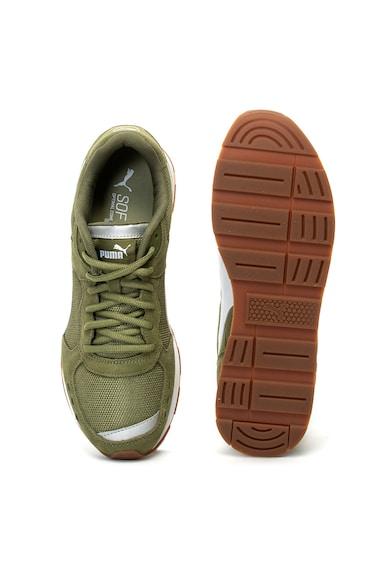 Puma Vista nyersbőr sneakers cipő hálós anyagbetétekkel férfi
