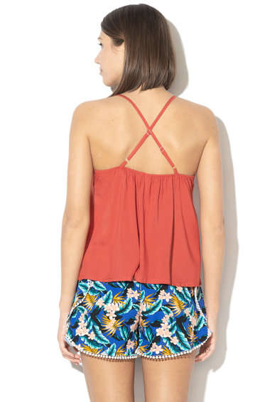 Skiny Top de plaja cu detalii crosetate Summer Femei