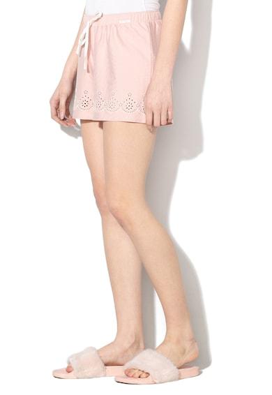 Skiny Pantaloni scurti de pijama cu snur pentru ajustare Roots Femei