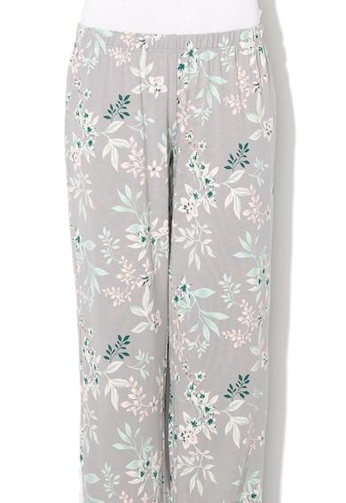 Skiny Pantaloni de pijama cu imprimeu floral Roots Femei