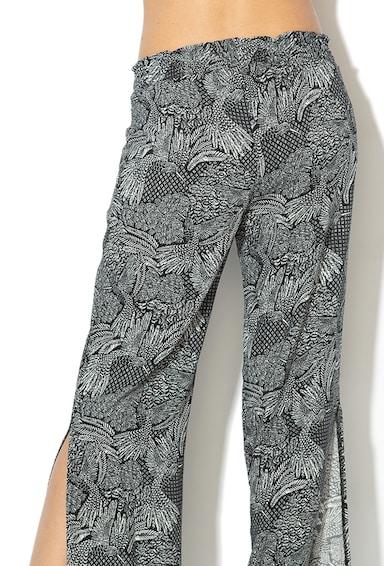 Skiny Pantaloni de plaja cu imprimeu si slituri laterale Femei