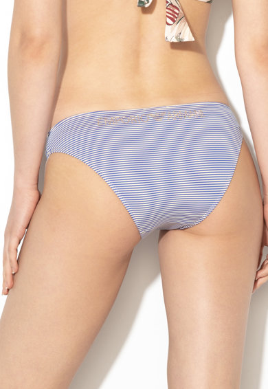 Emporio Armani Underwear Slip cu model in dungi Femei