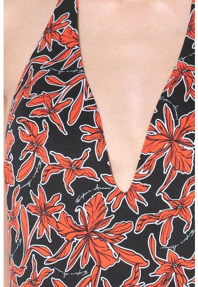 Emporio Armani Underwear Costum de baie intreg, cu imprimeu Femei