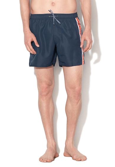 Emporio Armani Underwear Pantaloni scurti de baie cu imprimeu logo si snur Barbati