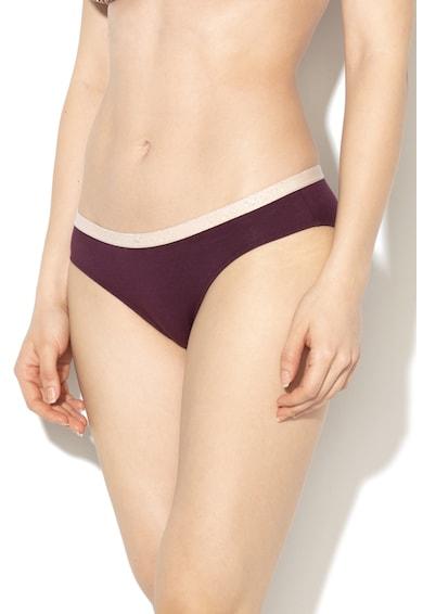 Emporio Armani Underwear Set de chiloti cu banda logo in talie - 2 perechi Femei