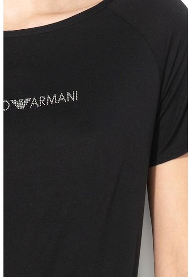 Emporio Armani Underwear Póló logós részlettel női