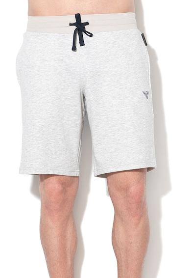 Emporio Armani Underwear Megkötős bermudanadrág hímzett logóval férfi