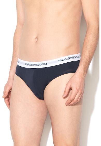 Emporio Armani Underwear Слипове с лого на талията - 2 чифта Мъже