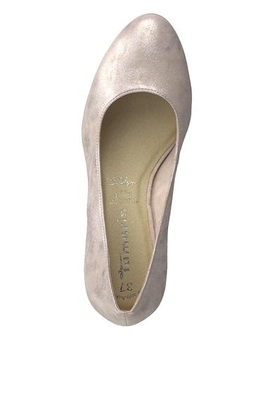 Tamaris Pantofi cu aspect metalizat Femei