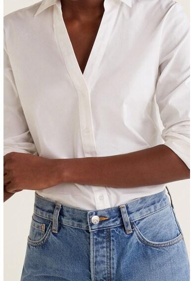 Mango V-nyakú ing női