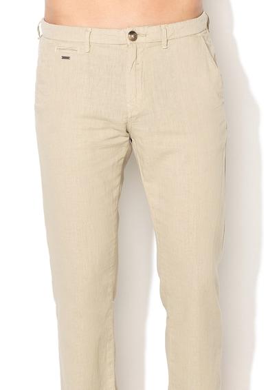 GUESS JEANS Pantaloni slim fit drepti din amestec de in Alain Barbati