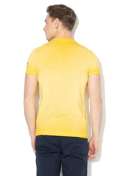GUESS JEANS Tricou super slim fit cu imprimeu logo Barbati