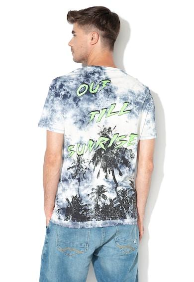 GUESS JEANS Тениска с десен тип батик Мъже
