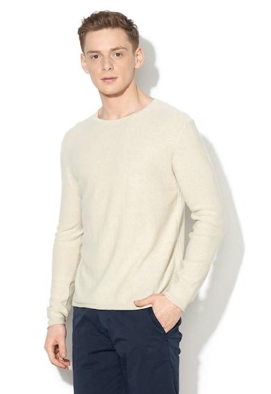 GUESS JEANS Bluza din amestec de in Barbati