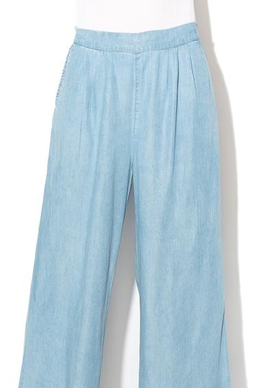 GUESS JEANS Pantaloni de lyocell cu croiala ampla si aspect de denim Femei