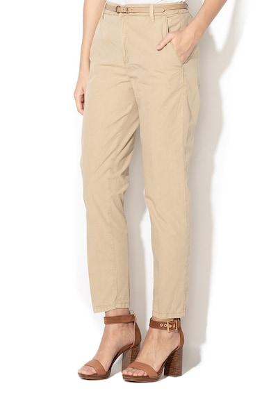 GUESS JEANS Панталон със стеснен крачол и колан Жени