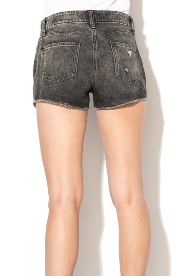 GUESS JEANS Pantaloni scurti de denim cu rupturi decorative Femei