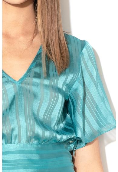GUESS JEANS Bluza transparenta cu maneci evazate Femei