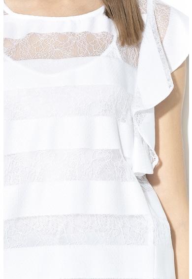 GUESS JEANS Дантелена блуза с разкроени ръкави Жени