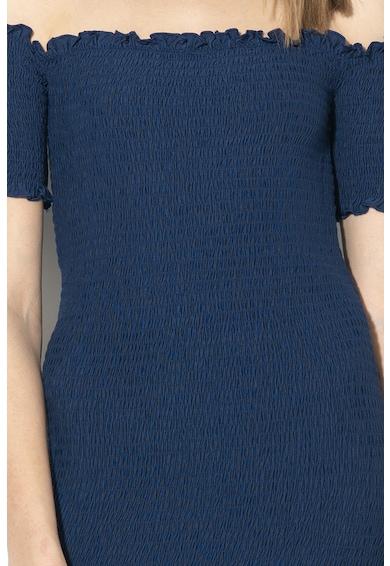 GUESS JEANS Ejtett vállú testre simuló ruha női
