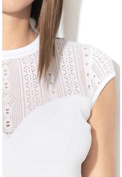 GUESS JEANS Bluza tricotata cu detalii perforate Femei