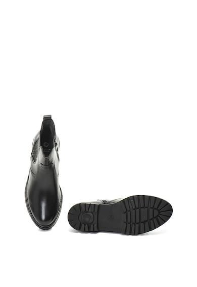 Jana Shoes Bőr chelsea csizma női