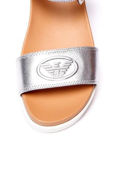 Emporio Armani Sandale flatform de piele Femei