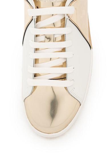 Emporio Armani Спортни обувки с кожени детайли Жени