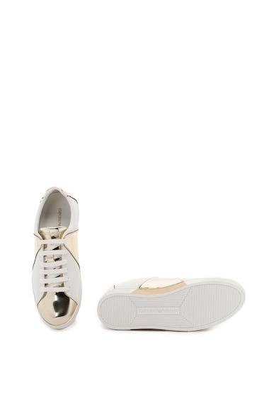Emporio Armani Pantofi sport cu insertii de piele Femei