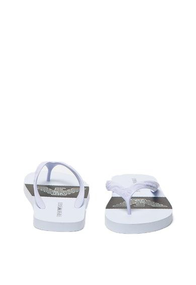 Emporio Armani Papuci flip-flop cu imprimeu logo Barbati