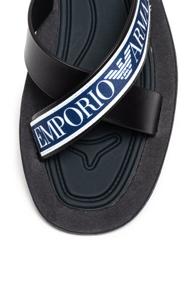 Emporio Armani Чехли с лого Мъже